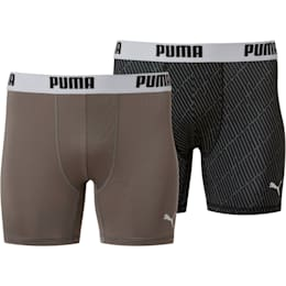 Men's Printed Performance Tech Boxer Brief [2 Pack]